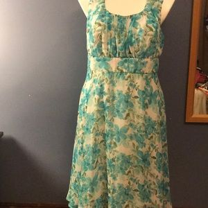 Connected apparel 16w turquoise dress